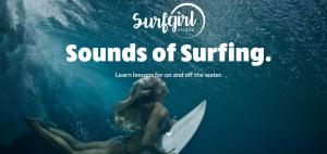women surfing app